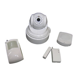 KIT ALARMA EN CAMARA IP MOTORIZADA